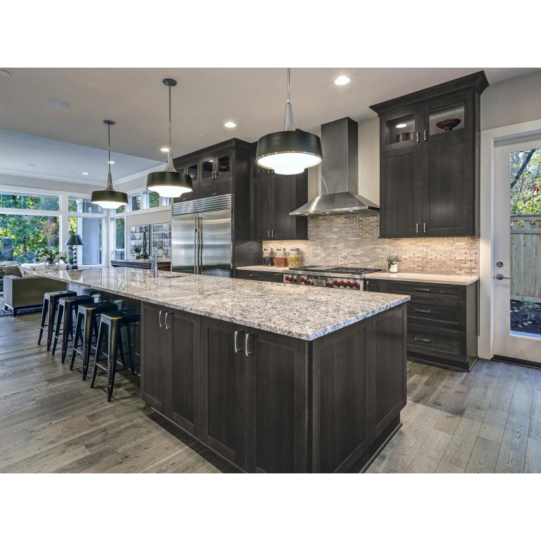 Dark Grey Shaker Kitchen: Shop Custom Kitchen Cabinets