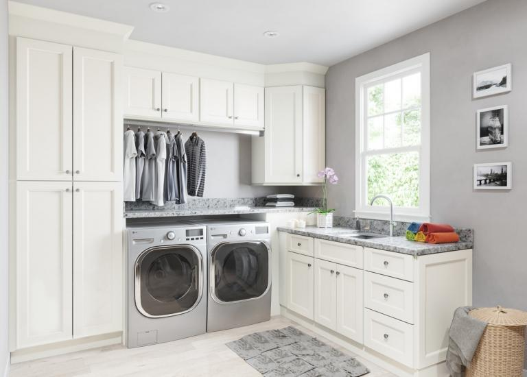 Kitchen Laundry Room Cabinets Laundry Inside Union White Add To Compare Laundry Room Cabinetry High Quality Cabinets Willow Lane