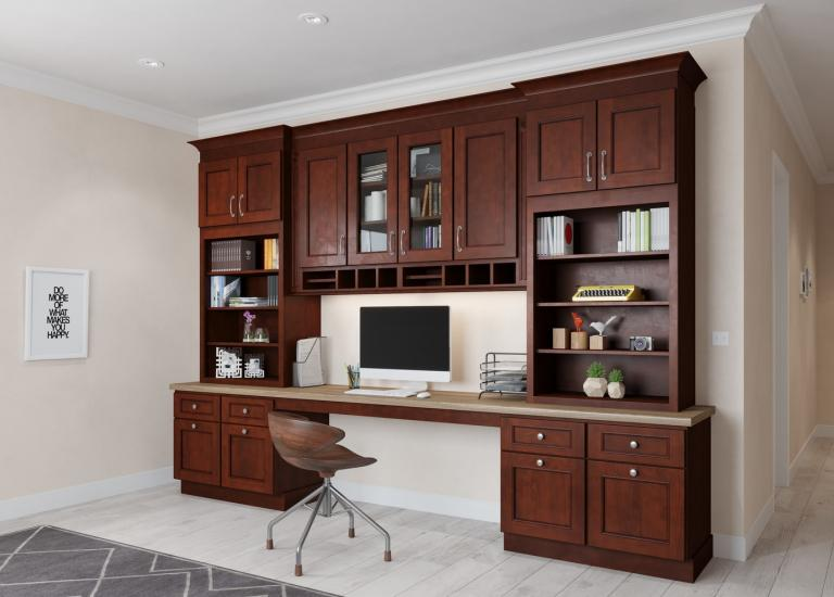 Tuscan Walnut. Add To Compare. Office Cabinetry