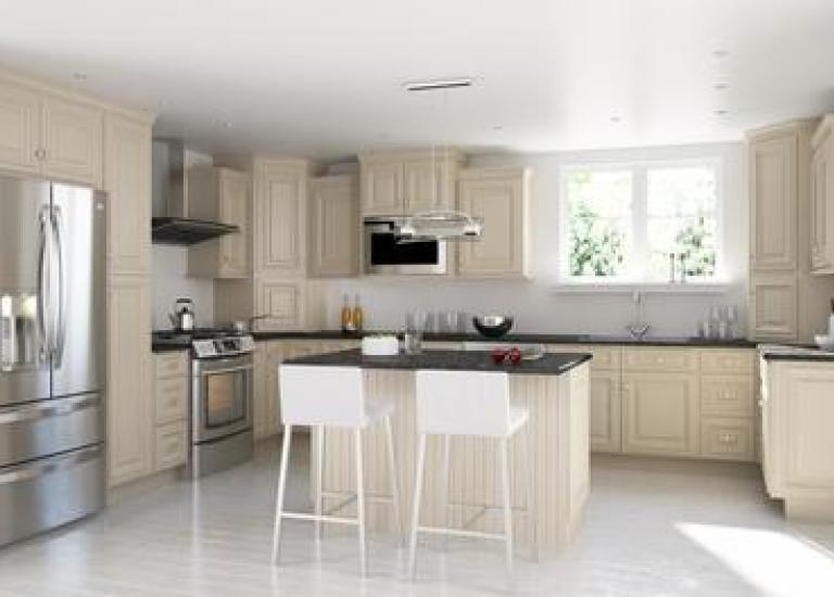 Shop custom kitchen cabinets willow lane cabinetry for Brushed sage kitchen cabinets