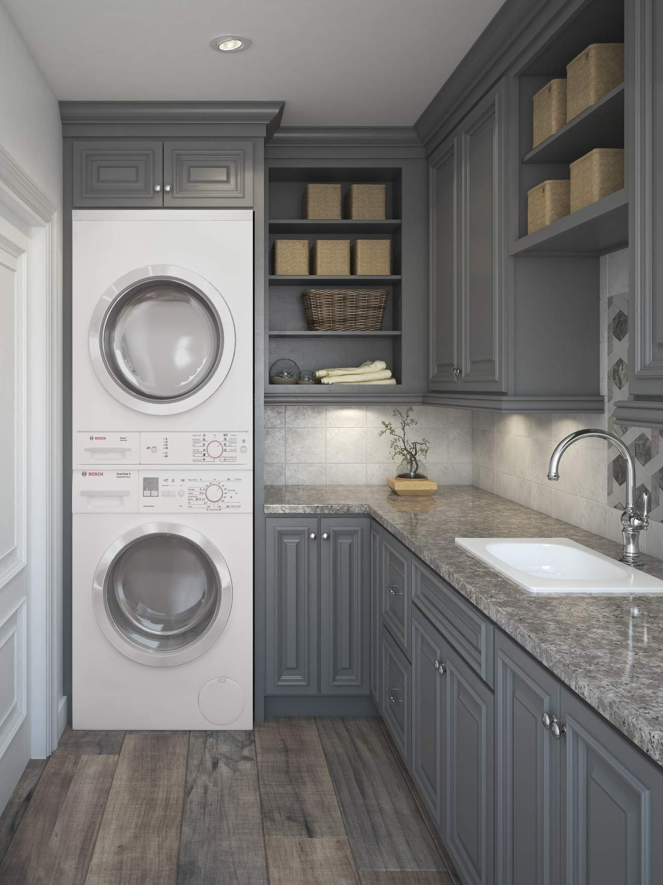 Roosevelt Steel Gray Add To Compare Laundry Room Cabinetry