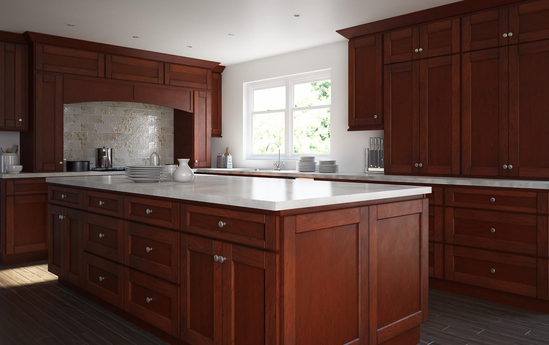 Manchester Shaker Brandywine Kitchen Cabinets Willow Lane Cabinetry