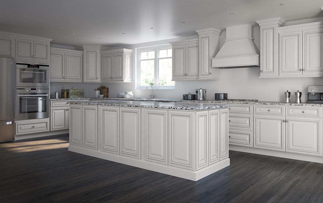 Roosevelt white chocolate accent kitchen cabinets willow for Cocoa cabinets