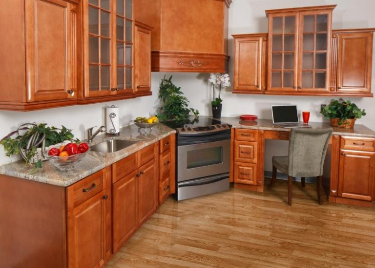Regency Spiced Glaze Pre-Assembled Kitchen Cabinets