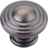 "Jeffrey Alexander By Hardware Resource - Bremen 2 Collection - 1.25"" Diameter in Brushed Oil Rubbed Bronze"