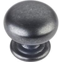 "Elements By Hardware Resource - Florence Collection Knobs - 1.25"" Diameter in Gun Metal"
