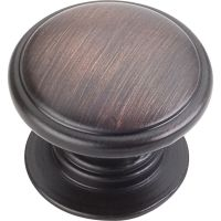 "Jeffrey Alexander By Hardware Resource - Durham Collection - 1.25"" Diameter in Brushed Oil Rubbed Bronze"