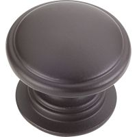 "Jeffrey Alexander By Hardware Resource - Durham Collection - 1.25"" Diameter in Dark Bronze"