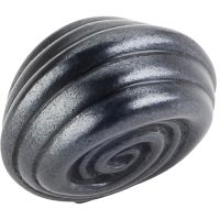 "Jeffrey Alexander By Hardware Resource - Lille Collection Knobs - 1.25"" Overall Length in Gun Metal"