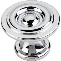 "Elements By Hardware Resource - Syracuse Collection Pulls - 1.1875"" Projection in Polished Chrome"