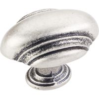 Jeffrey Alexander By Hardware Resource - Amsden Collection - in Distressed Pewter