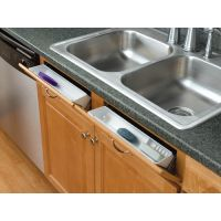 Tilt Out Tray and Accessory Tray for Sink Base (Rev-A-Shelf)