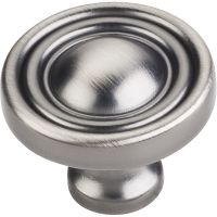 "Jeffrey Alexander By Hardware Resource - Bella Collection - 1.375"" Diameter in Brushed Pewter"