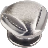 "Jeffrey Alexander By Hardware Resource - Chesapeake Collection - 1.3125"" Diameter in Brushed Pewter"