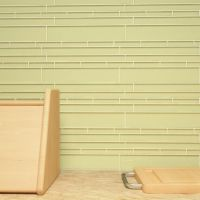 "Cristezza Club Glass Tile in Light Olive - 9.5"" x 10.5"""
