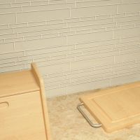 "Cristezza Club Glass Tile in Light Taupe - 9.5"" x 10.5"""