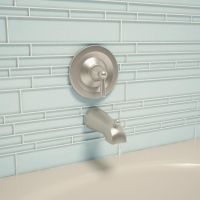 "Cristezza Club Glass Tile in Baby Blue - 9.5"" x 10.5"""