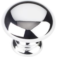 """Elements By Hardware Resource - Geneva Collection Knobs - 1.25"""" Diameter in Polished Chrome"""