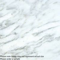 "Arabescato Carrara 1"" x 3"" Honed In 12"" x 12"" Mesh"