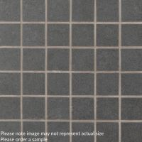 "Dimensions Graphite 2"" x 2"" Porcelain Tile"
