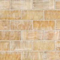 "Giallo Crystal Onyx 2"" x 4"" Subway Tile"