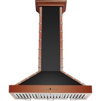 Cavaliere-Euro SV318B2-36-CP Copper Finshed Stainless Steel Wall Mounted Range Hood
