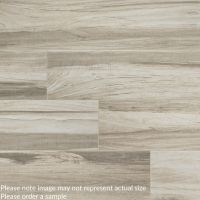 "Carolina Timber 6"" x 36"" White Wood Look Tile"